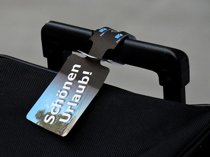 Kofferanhänger (Anhänge-Etikett)