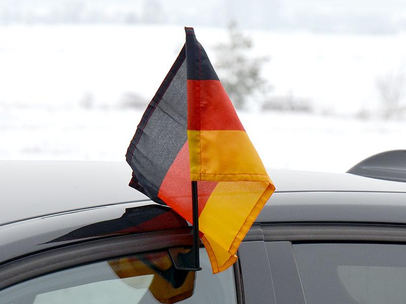 Car-Flag mit Fahnenhalter