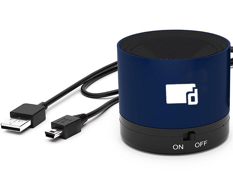 Bluetooth-Lautsprecher mit Druck