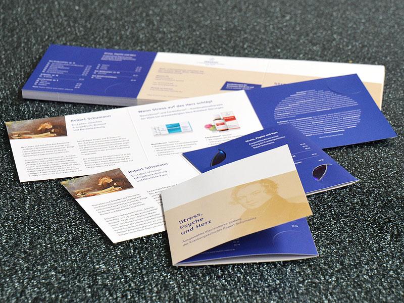 CD-Folder mit Klemmschlitzen