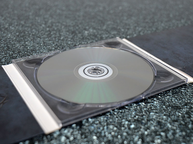CD-Trays inkl. Klebepunkte