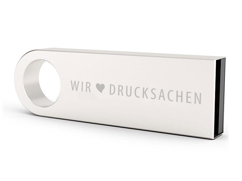 USB-Stick Metall mit Gravur