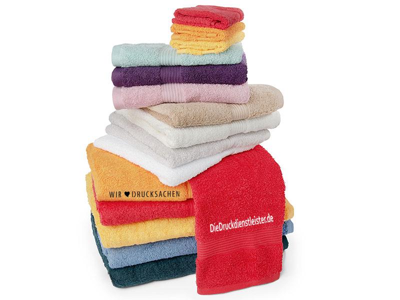 Handtücher mit Stick