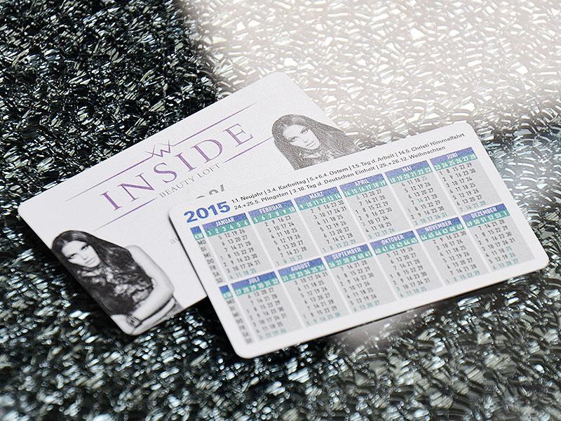 Taschenkalender 2-seitig