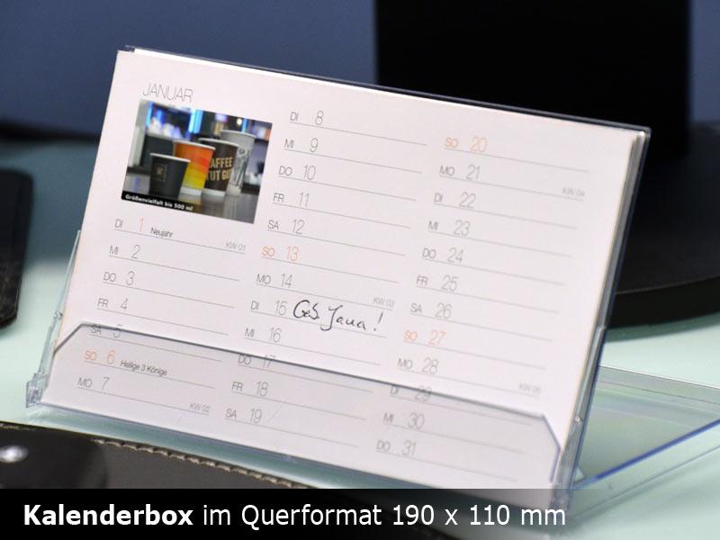 Kalender-Box
