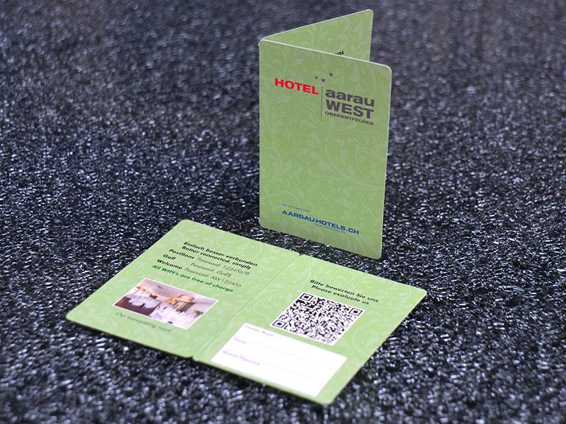 Kartenhüllen mit Einsteck-Lasche
