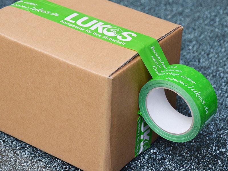 Paketklebebänder mit Logo-Druck