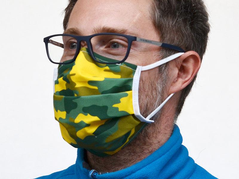 Gesichts-Maske waschbar und wiederverwendbar