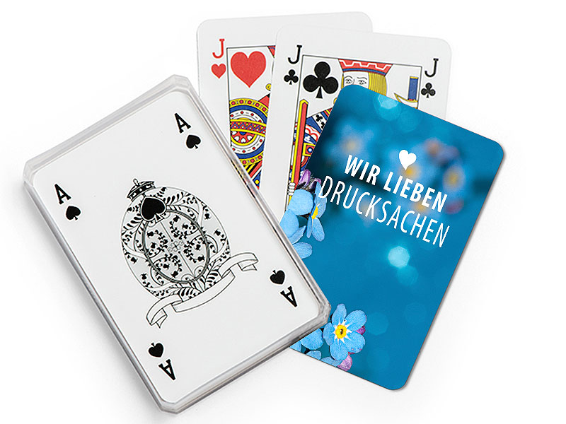 Spielkarten 32er Skatdeck inkl. Kunststoffschachtel