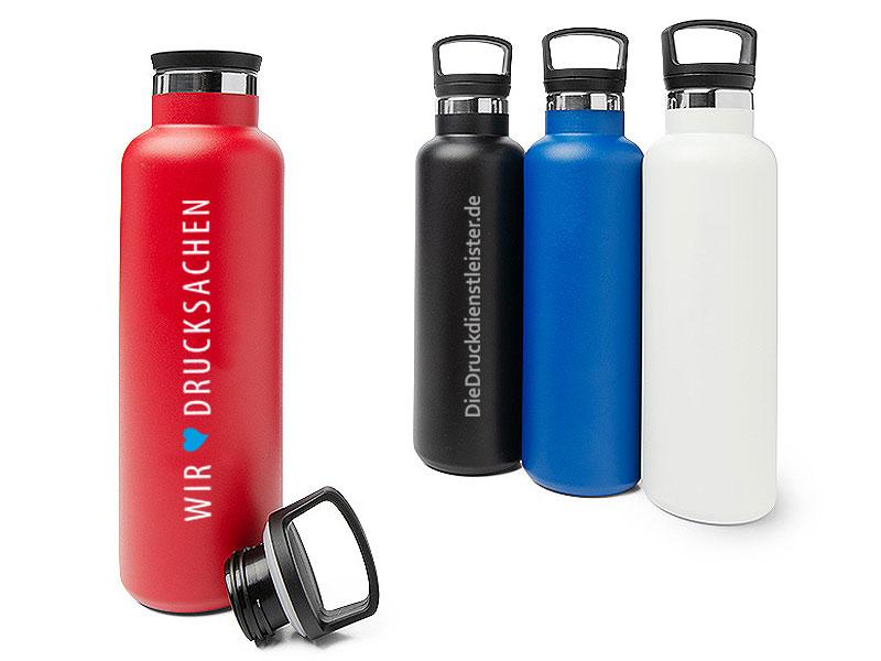 Thermosflaschen mit Gravur oder Druck