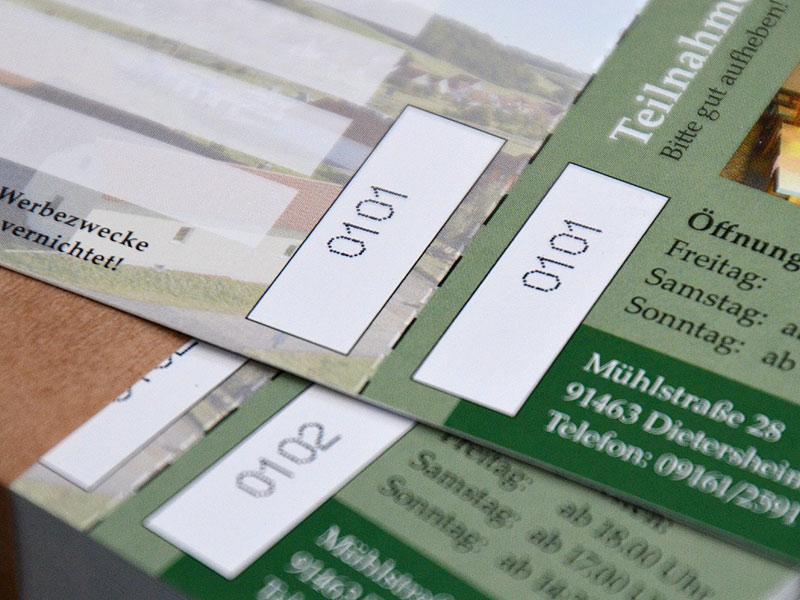 Eintrittskarten | drucken - schnell & günstig
