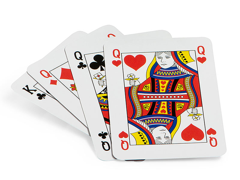 Spielkarten Größe