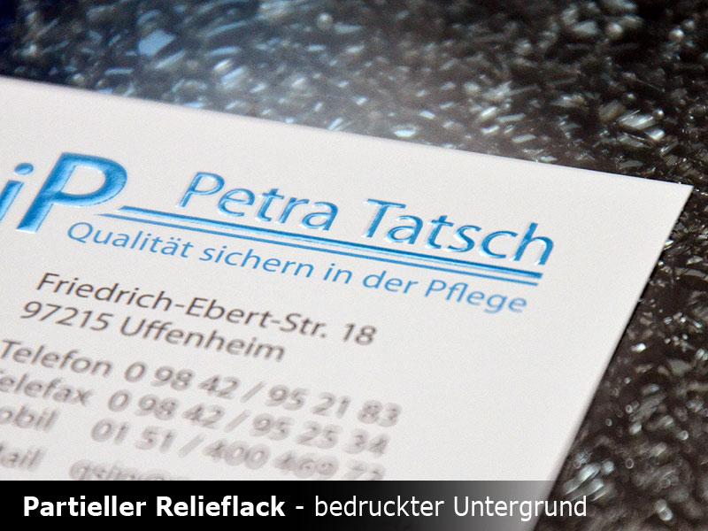 Visitenkarten Mit Effektlackierung Drucken Schnell Günstig