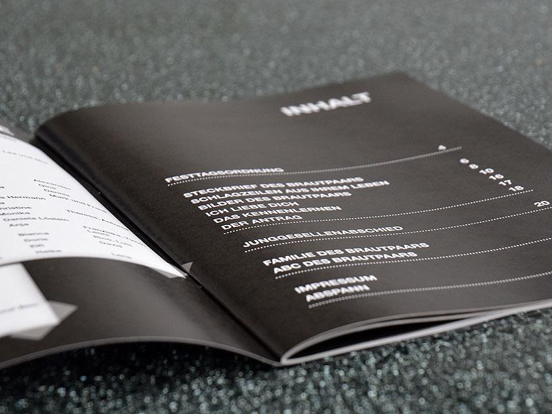 broschüre drucken geringe auflage