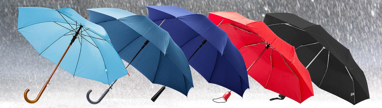 Regenschirme mit Logo-Druck