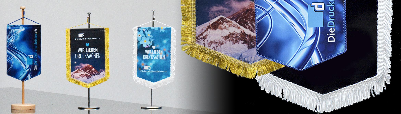 Banner Tischwimpel